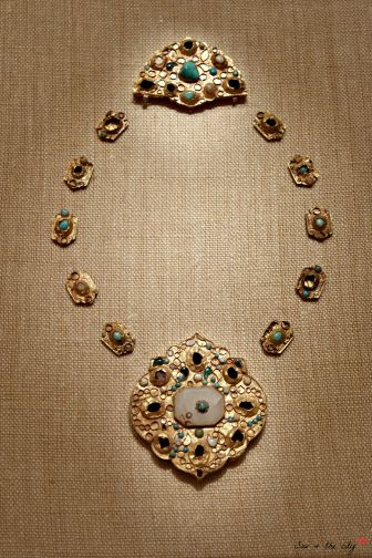 Elements of a necklace, late 14th-16th century from Iran or Central Asia -The Metropolitan Museum of Art