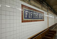 Fifth Ave tilework