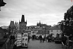 Charles Bridge square