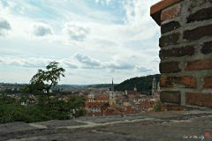 View from the castle wall at Prague