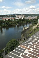 View over the Vltava river