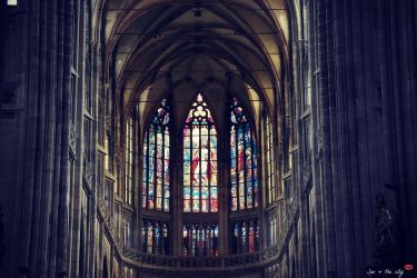 Interior of St. Vitus Cathedral