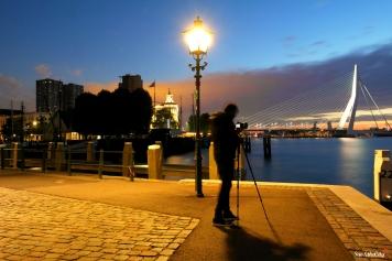 Sunrise in Rotterdam