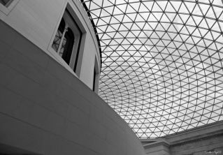 London British Museum - want this roof at home